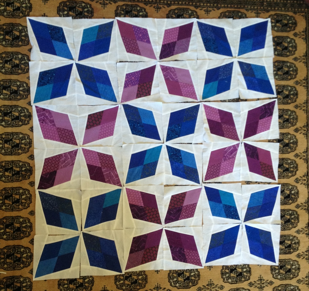 Arkansas Traveler Quilt by Pieced Together Quilts