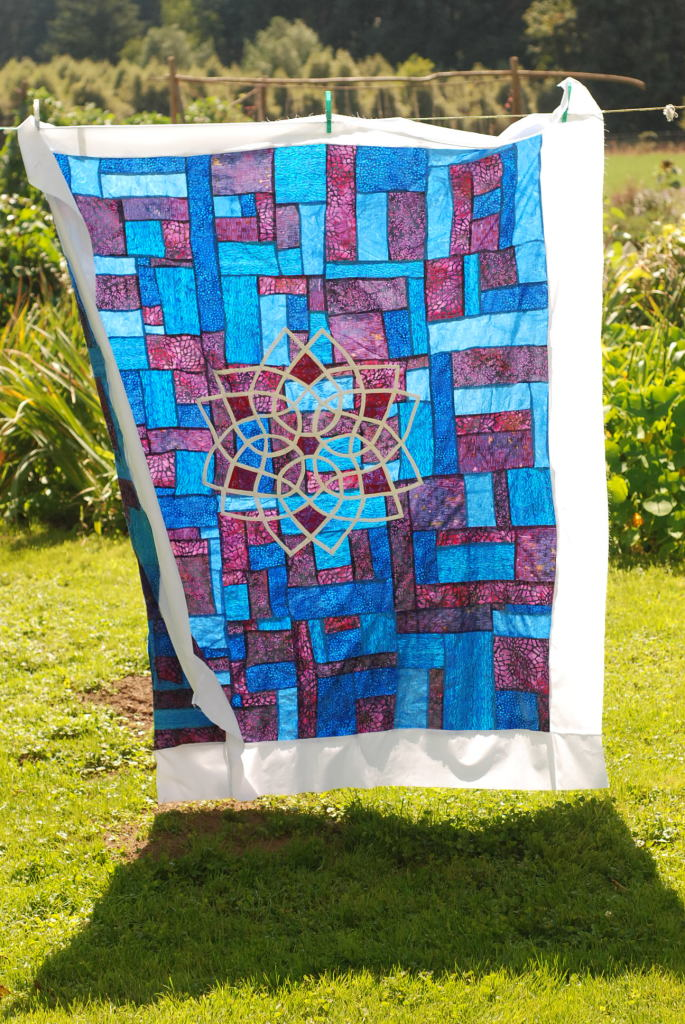 Celtic Appliqué Quilt by Pieced Together