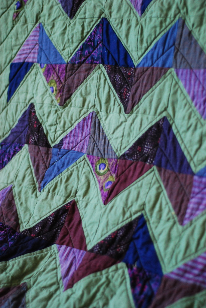 Chevron Quilt by Pieced Together Quilts