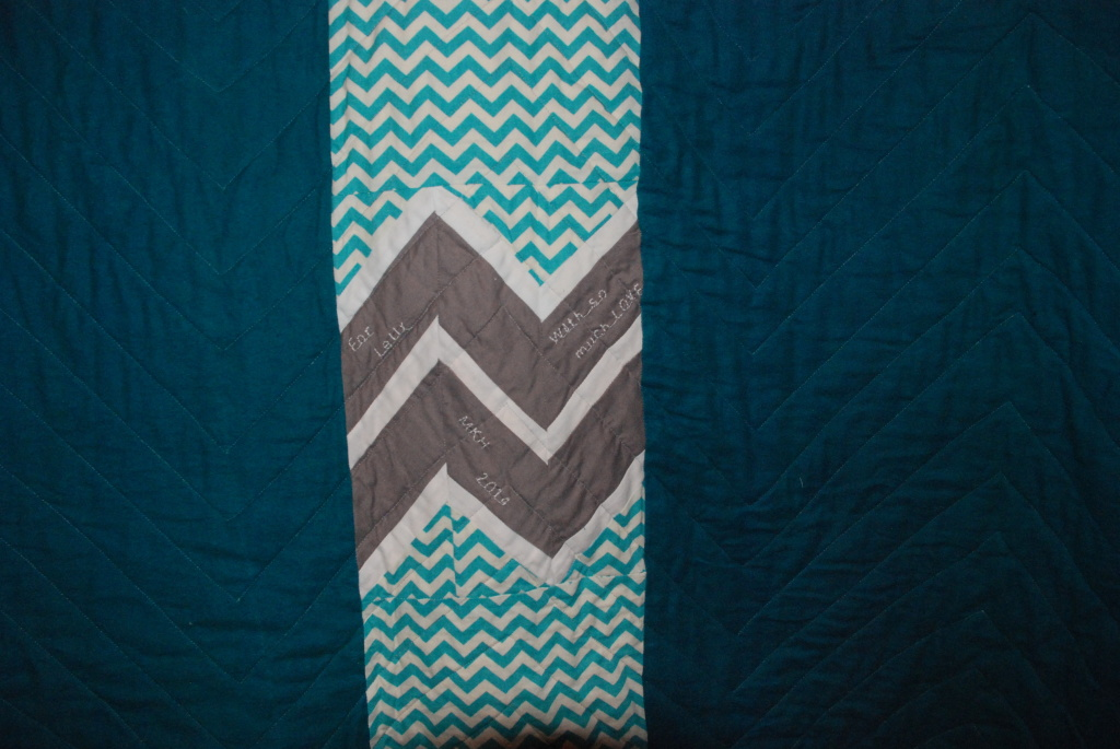 Herringbone Quilt by Pieced Together Quilts