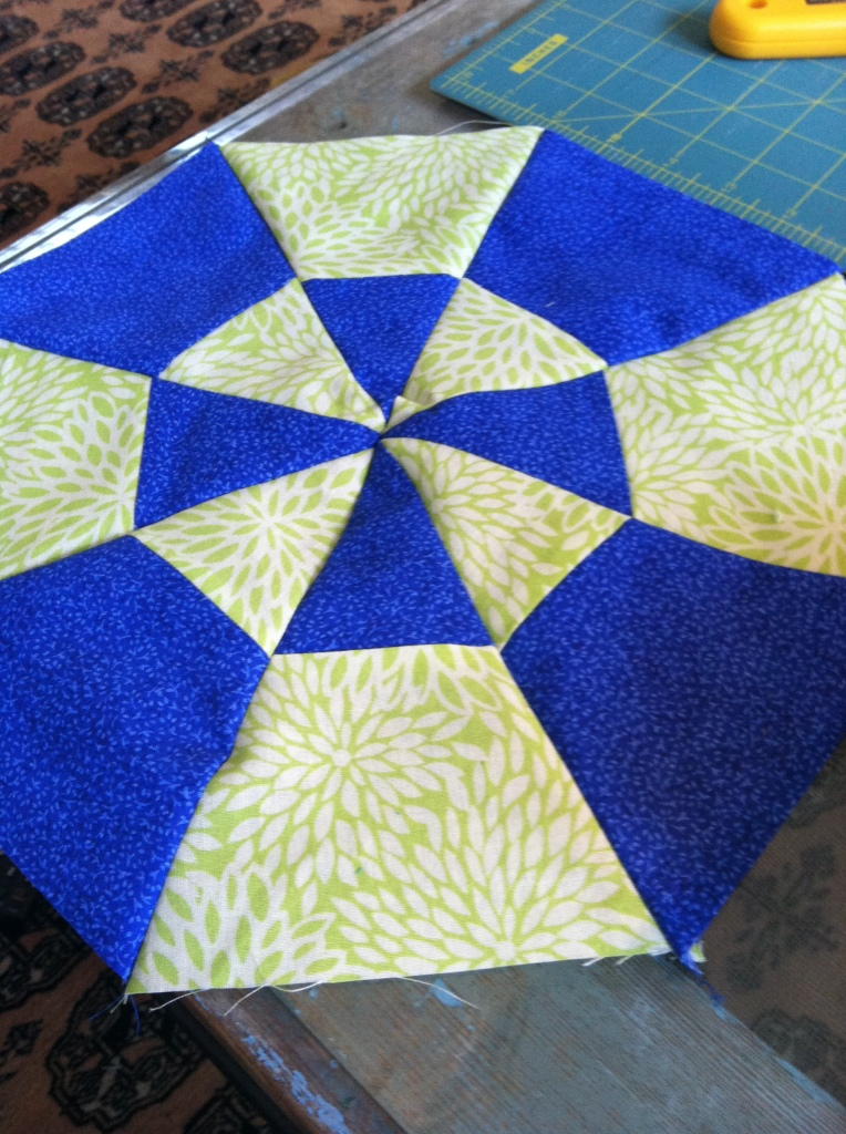 Kaleidoscope Quilt by Pieced Together Quilts