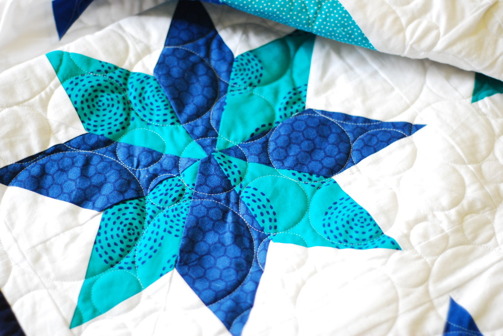 Eight Pointed Star - PiecedTogether Quilts