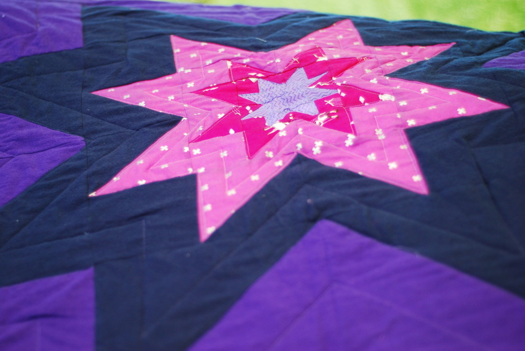 Big Star Baby by PiecedTogether Quilts