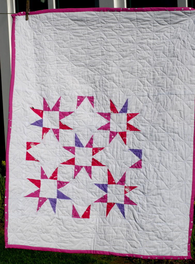 Pink Maverick by PiecedTogether Quilts