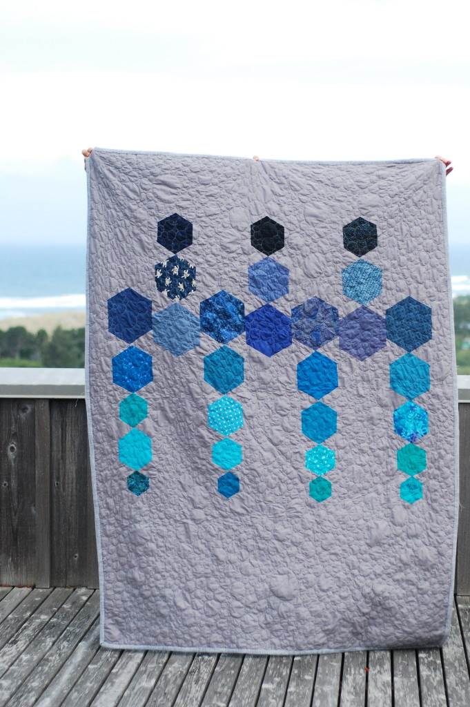Hexy Quilt by PiecedTogether Quilts